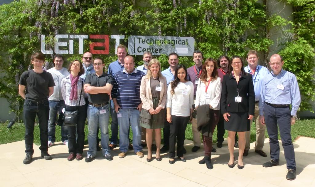 ASTUTE partners during the final meeting at LEITAT facilities (2014-04-09)