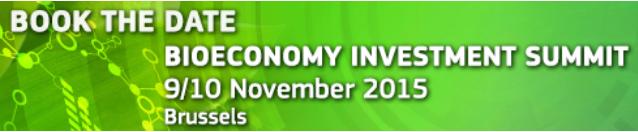 Bioeconomy Investment Summit 2015 Brussels
