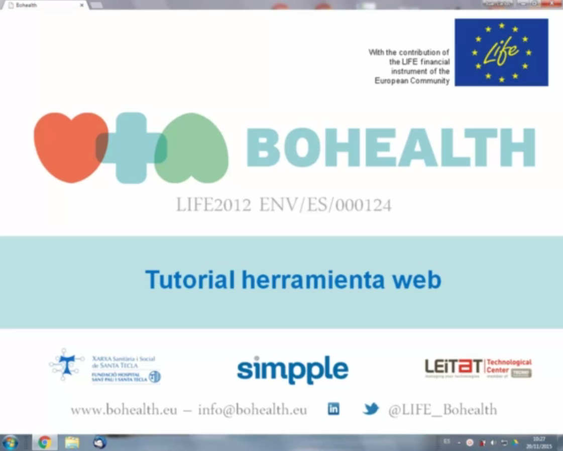 BOHEALTH video tutorial