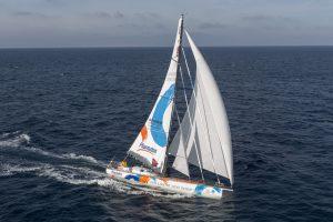 23/12/2014, Barcelona (ESP), Barcelona World Race 2014-15, Barcelona Trainings, One Planet One ocean and Pharmaton, Aleix Gelabert, Didac Costa