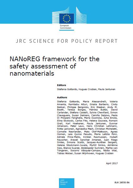 NANoREG framework for the safety assessment of nanomaterials published!
