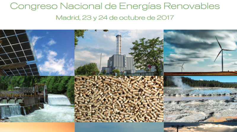 Meet us at the National Congress of Renewable Energies