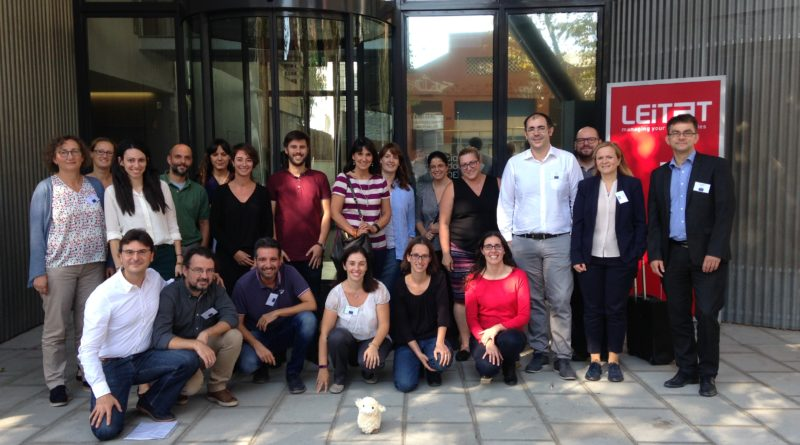 nTRACK Kickoff meeting in Barcelona: gold nanoparticles for tracking stem cells