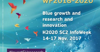 Horizon 2020 Societal Challenge 2 Infoweek including Blue Growth and Research and Innovation Session