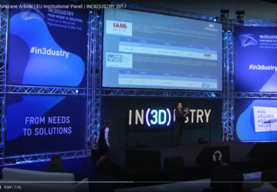 IAM 3DHub presented during the IN(3D)USTRY 2017