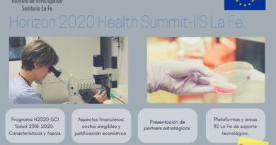 Meet us at the Horizon 2020 Health Summit-IIS La Fe in Valencia