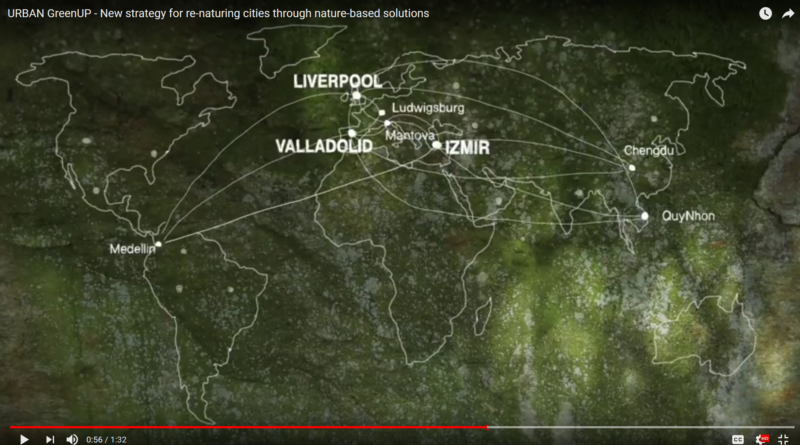 Discover the URBAN GreenUP video! New strategy for re-naturing cities through nature-based solutions