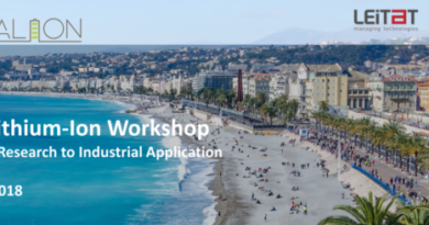 Agenda finalized! Register for the Beyond Lithium-Ion Workshop in Nice! 2 October 2018!