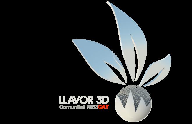 Logo LLAVOR 3D