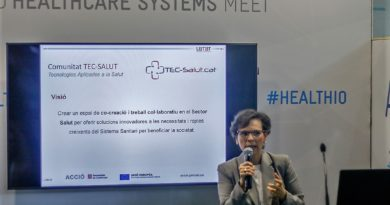 The TEC-SALUT Community presents its activities at HEALTHIO 2018