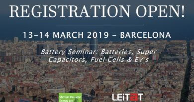 Battery Seminar: Registration Open!