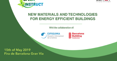 Workshop: New Materials and Technologies for Energy Efficient Building