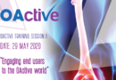 Engaging end users to the OActive world: Biomarkers, Biomechanics, Computational Modelling and more
