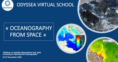 Virtual School: Satellite Observations and Data Processing in Operational Oceanography
