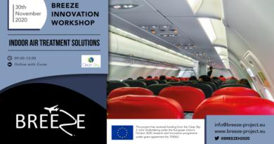 Breeze Innovation Workshop: Indoor Air Treatment Solutions