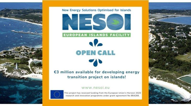 The first European Island Facility NESOI call is open