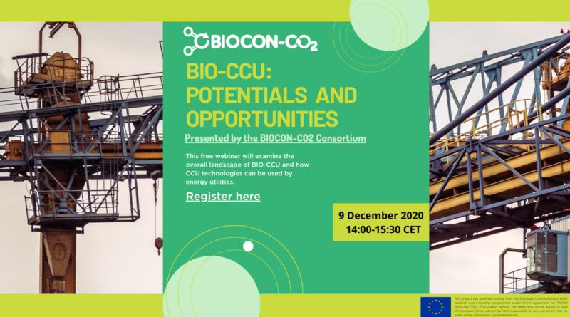 First ever BIOCON-CO2 webinar